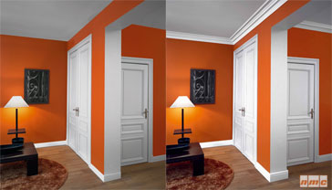 Individuelle Gestaltung von Decken und Wänden mit Zierprofilen und Rosetten